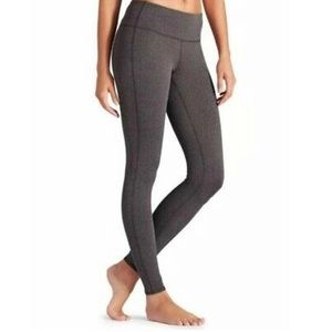Athleta Herringbone Chaturanga Tight Size XS